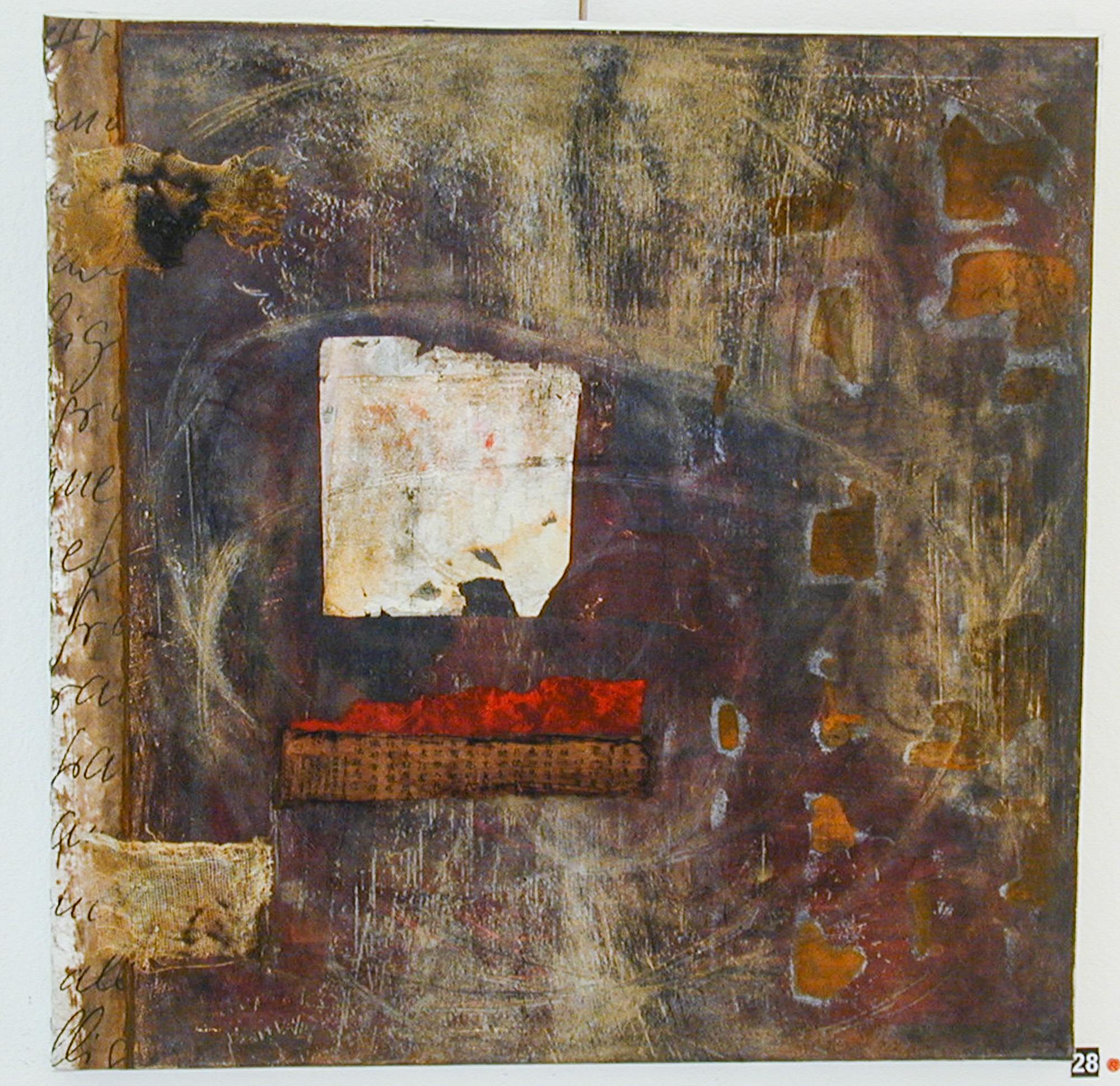 Recueil, 2003, Peinture 100x140cm