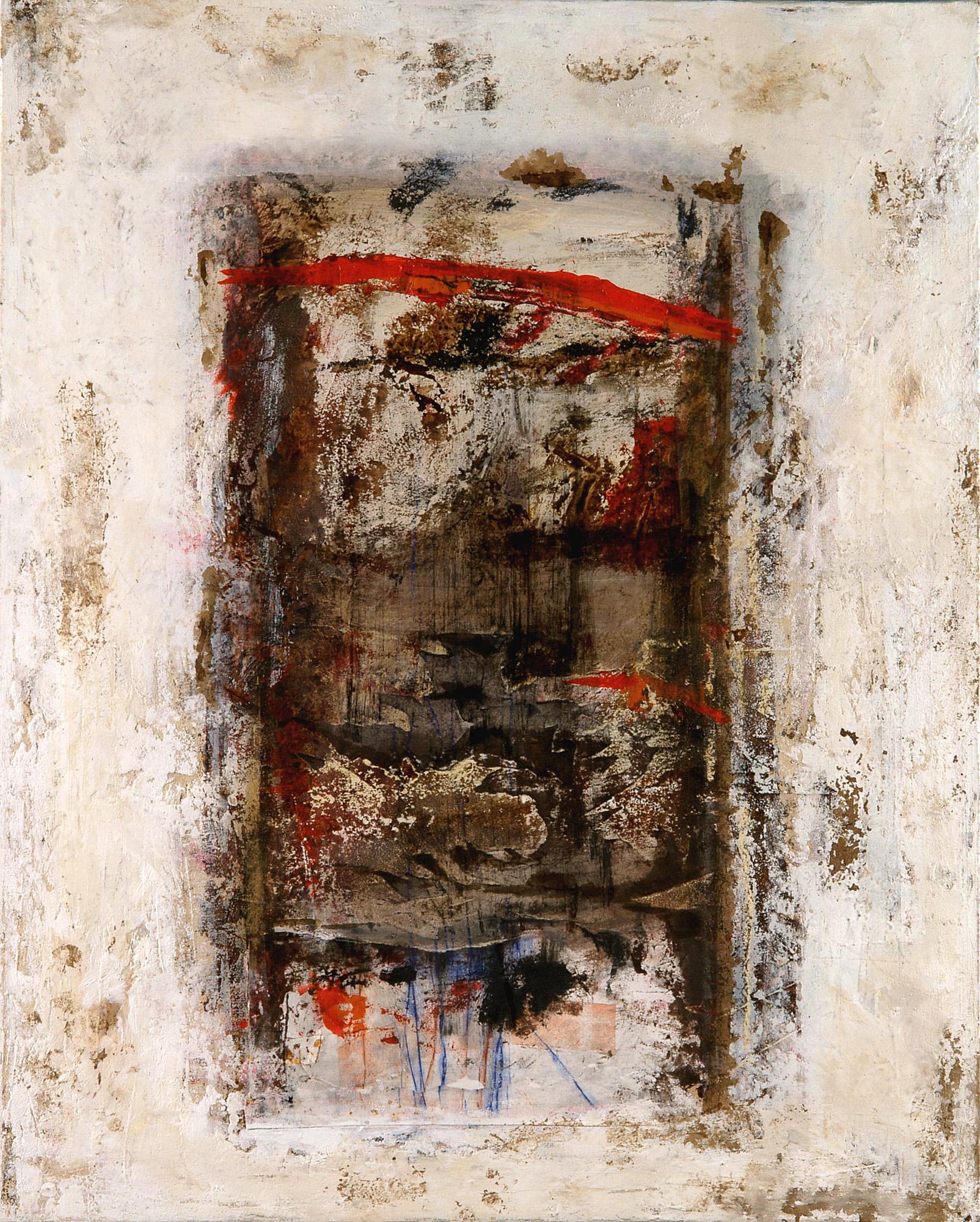 Escalera, 2005, Peinture 55x65cm