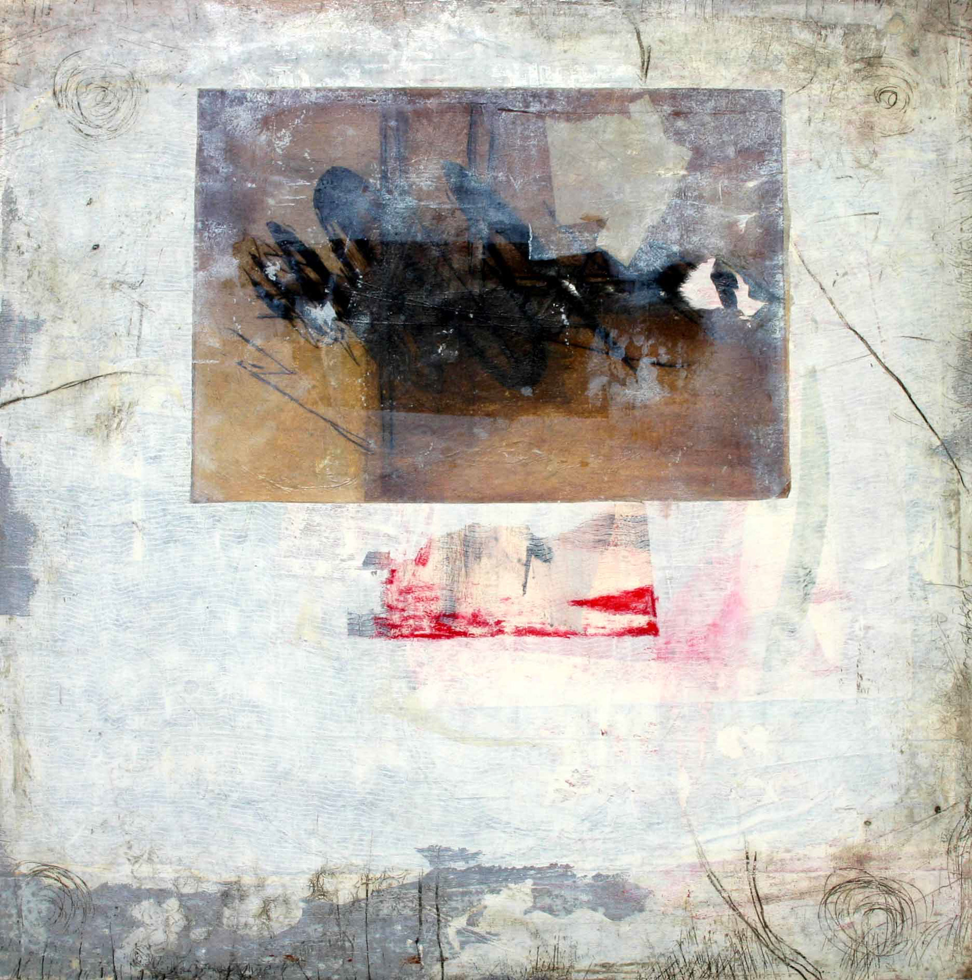 Attraction, 2009, 50x50cm