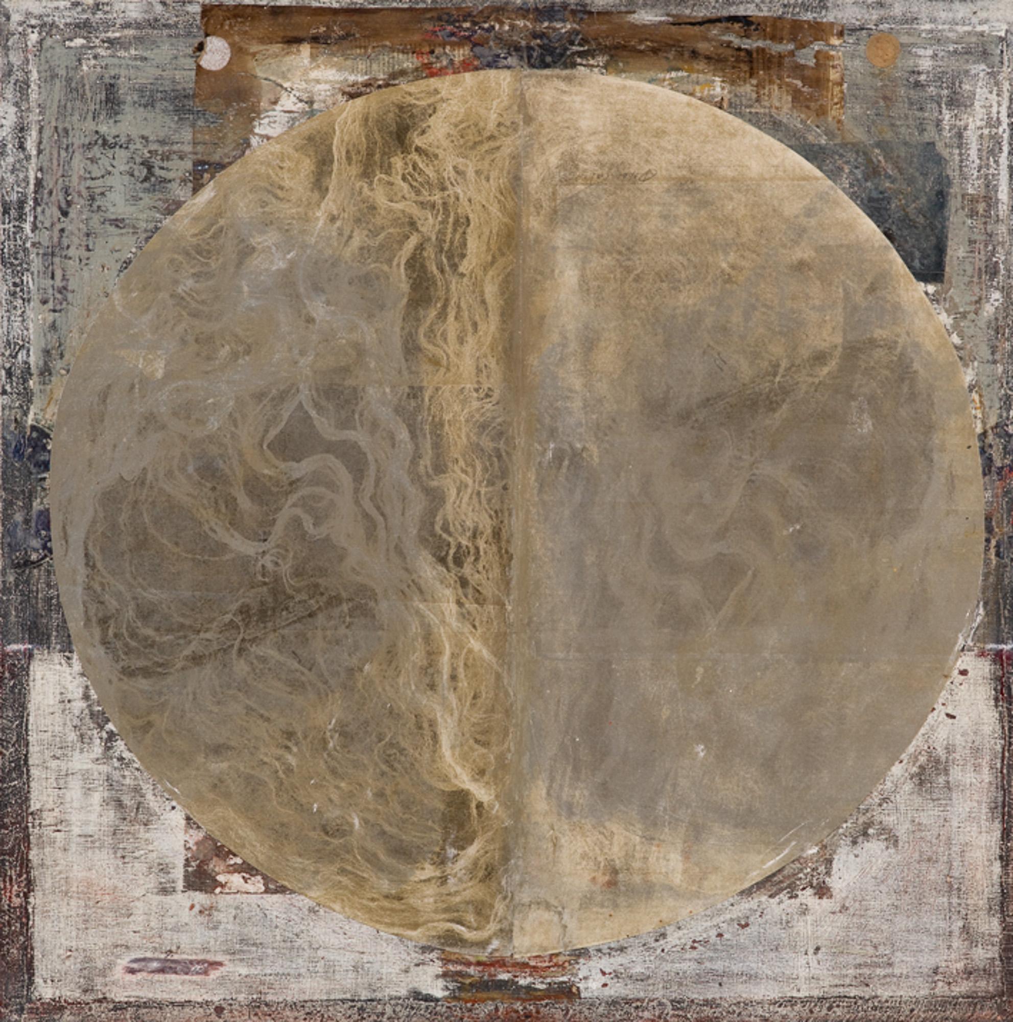 Trame de lune, 2010, 80x80cm