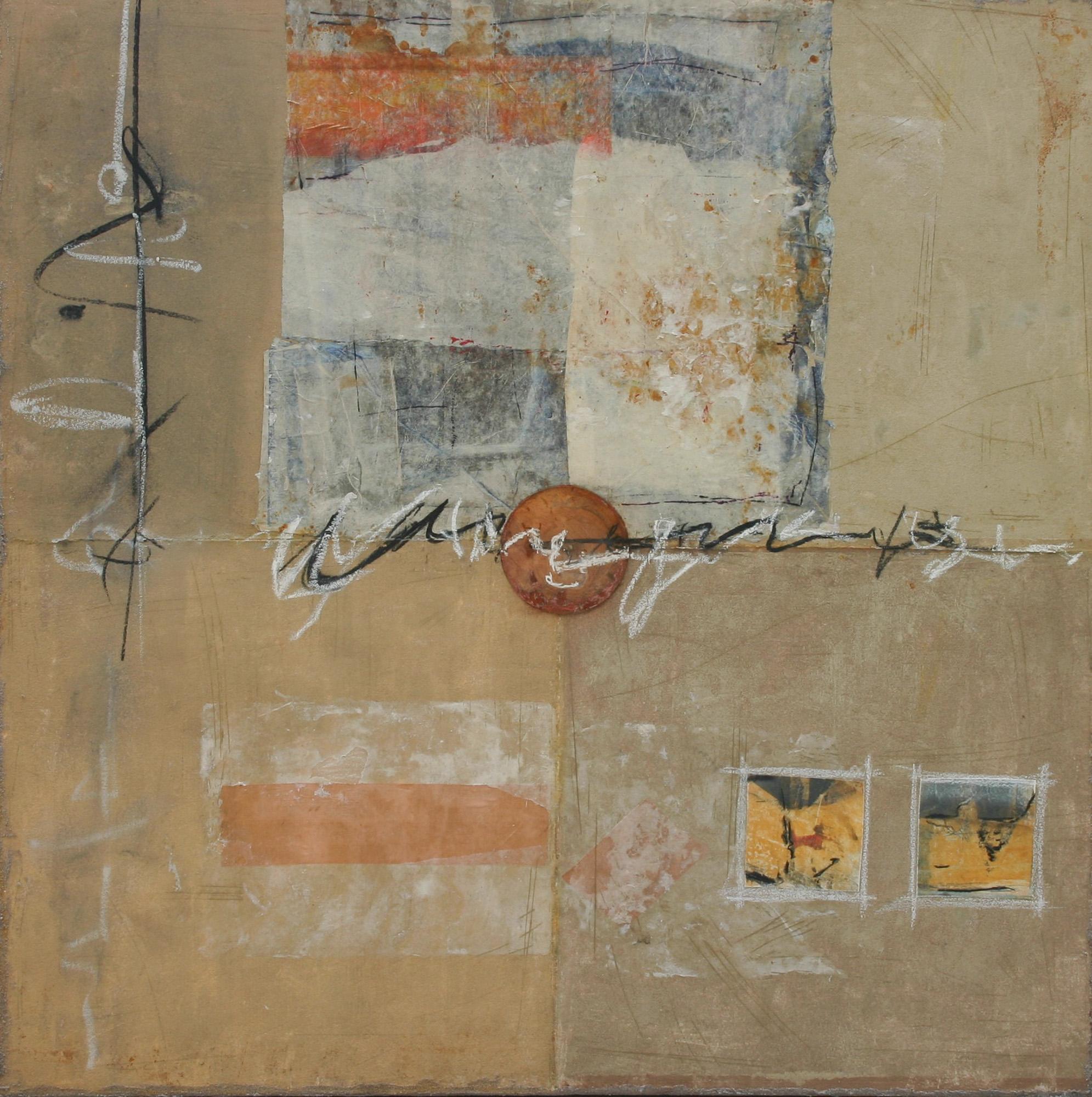 Le dixième jour, 2004, Peinture 100x100cm