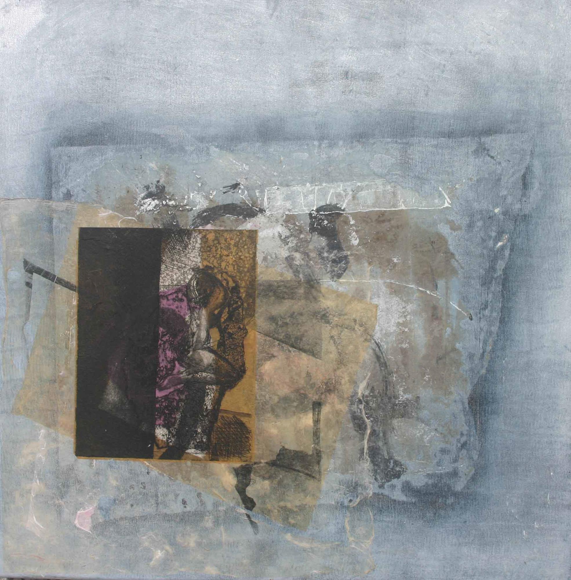 Les fiançailles, 2009, 50x50cm