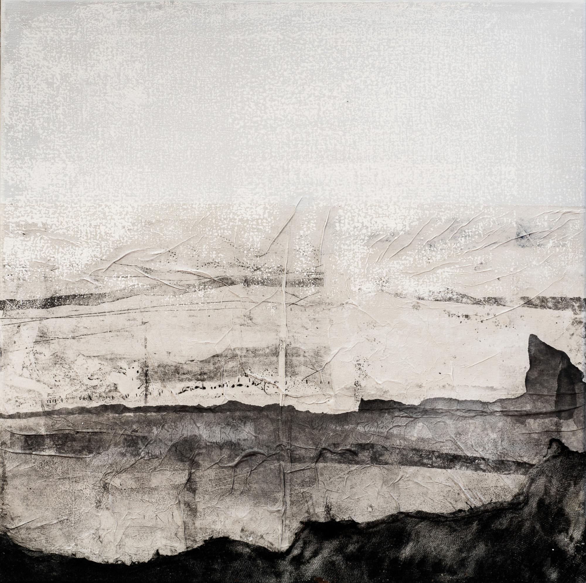 Tableau 7 - gravure et techniques mixtes 50x50cm